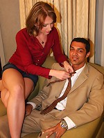 In Detroit, tranny Athena seduces Jim with her pouty lips and delicate touch. Jims cock immediately rises to attention and he sucks Athena dry!